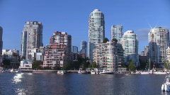 Vancouver Water Taxi Stock Footage