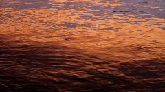 Sunset on Water Stock Footage