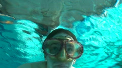 Diver Stock Footage