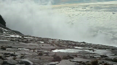 panorama from Mt Kinabalu - stock footage