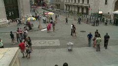 Ny stock exchange wide Stock Footage