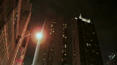 Ny building timelapse Stock Footage