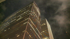 Office building ny timelapse Stock Footage