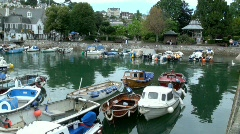 Dartmouth Harbour Stock Footage