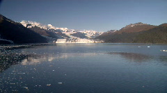 Alaska Glaciers On A Beautiful Day Stock Footage