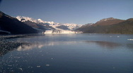 Stock Video Footage of Alaska Glaciers On A Beautiful Day