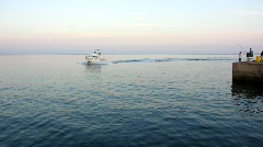 Commercial Fishing Boat 1 Stock Footage