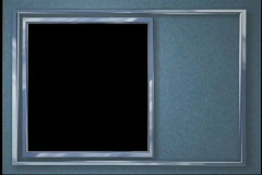 2521 photo picture video frame Stock Footage
