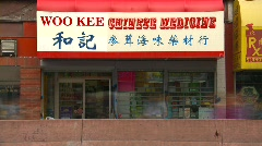 Time-lapse, chinese medicine store Stock Footage