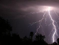 4K Film 24p - Super lightning storm 2010 series 2 Stock Footage
