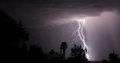 2K Video 30p - Super lightning storm 2010 series 2 Stock Footage