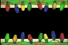 2511 Christmas tree lights blink Stock Footage
