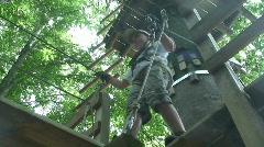adventure park 3 - stock footage