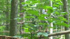 Adventure park 8 Stock Footage