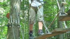 Adventure park 9 Stock Footage