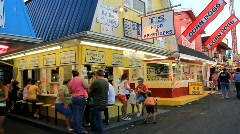 Food at the Fair (HD) c Stock Footage