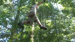 adventure parc 27 - stock footage