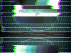 TV Test Pattern 640 x 480 Stock Footage