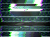 TV Test Pattern 640 x 480 Stock Footage