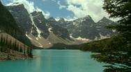 Stock Video Footage of Moraine Lake s pj 07