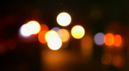 Stock Video Footage of Defocused lights