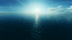 Ocean loopable background Stock Footage