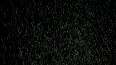 Hard rain Stock Footage