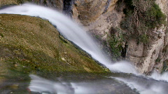Rupit waterfall0 Stock Footage