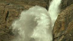 Takkakaw Waterfalls td pj 04 Stock Footage