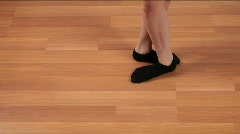 Dance Step Time Lapse Stock Footage