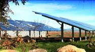 Solar Panel Energy Stock Footage