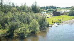 Trail Breaker Kennel Susan Butcher P HD 7814 Stock Footage