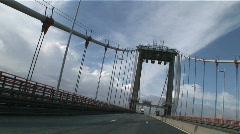 Pont aquitaine timelapse 1 Stock Footage