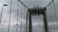 Pont aquitaine timelapse 2 Stock Footage