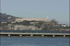 Alcatraz & Ferry Stock Footage