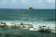 Atlantic Coast Jetty Stock Footage