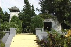 Bahamas Old Church Stock Footage