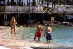 Basil's Beach Girl-zoom Stock Footage