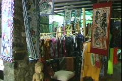 Batik Boutique Stock Footage