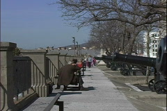 Battery Park Stock Footage