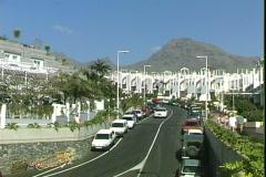 Beach Road Traffic Stock Footage