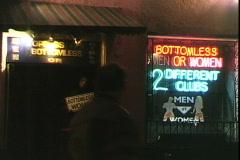 Bottomless Club Stock Footage