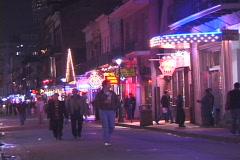 Bourbon Street Couple - stock footage