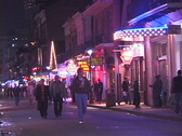 Bourbon Street Couple Stock Footage