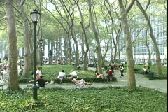 Bryant Park-ws Stock Footage