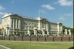 Buckingham Palace-2 Stock Footage