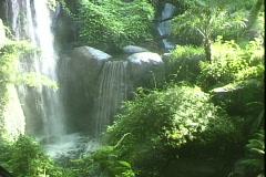 Busch Gardens Waterfalls Stock Footage