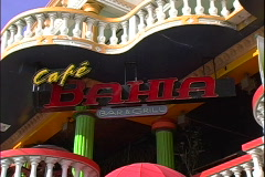 Cafe Bahia-zooms - stock footage
