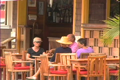 Cafe People Stock Footage
