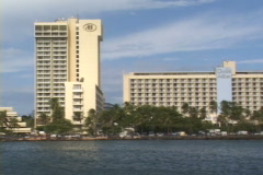 Caribe Hilton-zoom Stock Footage